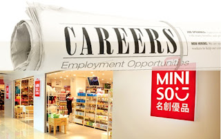 Miniso Home - Store Crew/Store Supervisor/Ass Store SPV