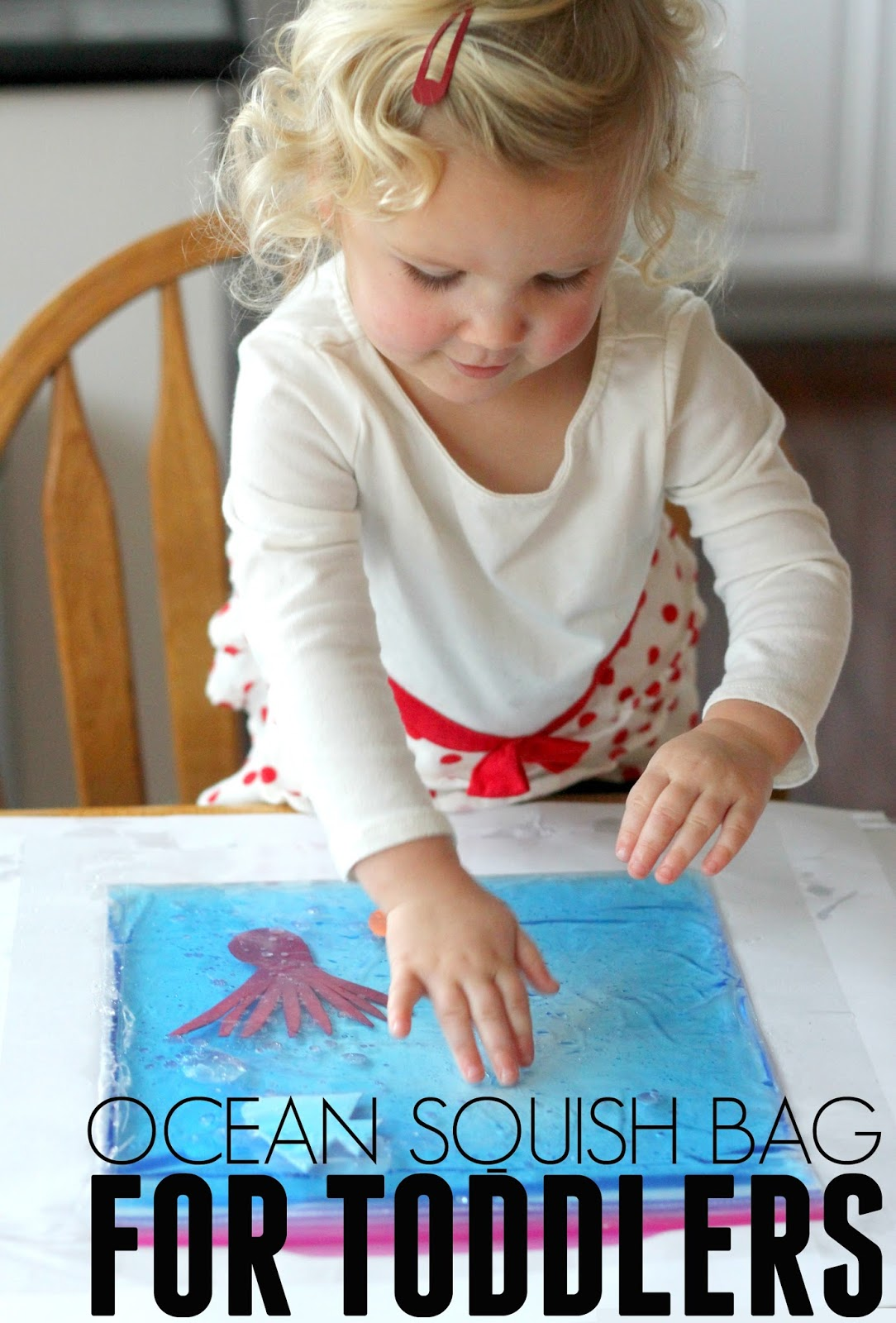 Toddler Approved Simple Ocean Squish Bag For Toddlers