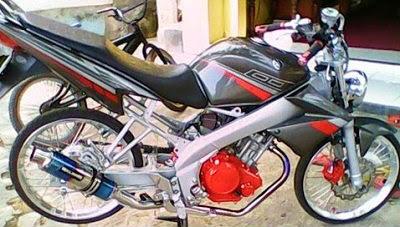 modifikasi motor vixion 2010 terkeren