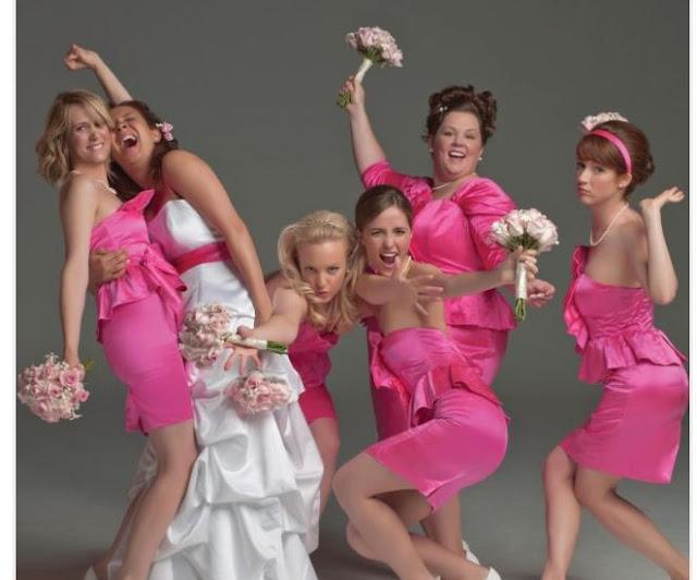 Les actrices de Mes meilleures amies, réalisé par Paul Feig (2011)