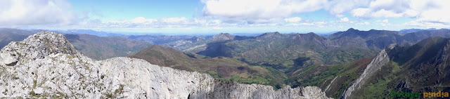 Ruta circular por la Arista de Peña Redonda y las Foces del Pino en Aller