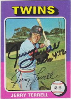 1975 Topps Mini, Jerry Terrell
