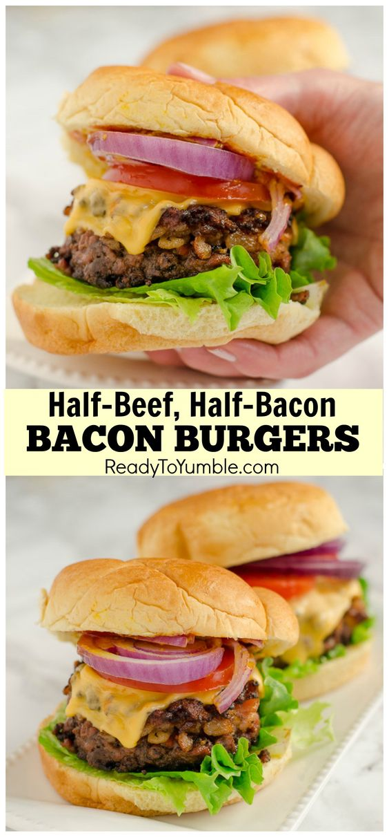 Ross' Bacon Burgers
