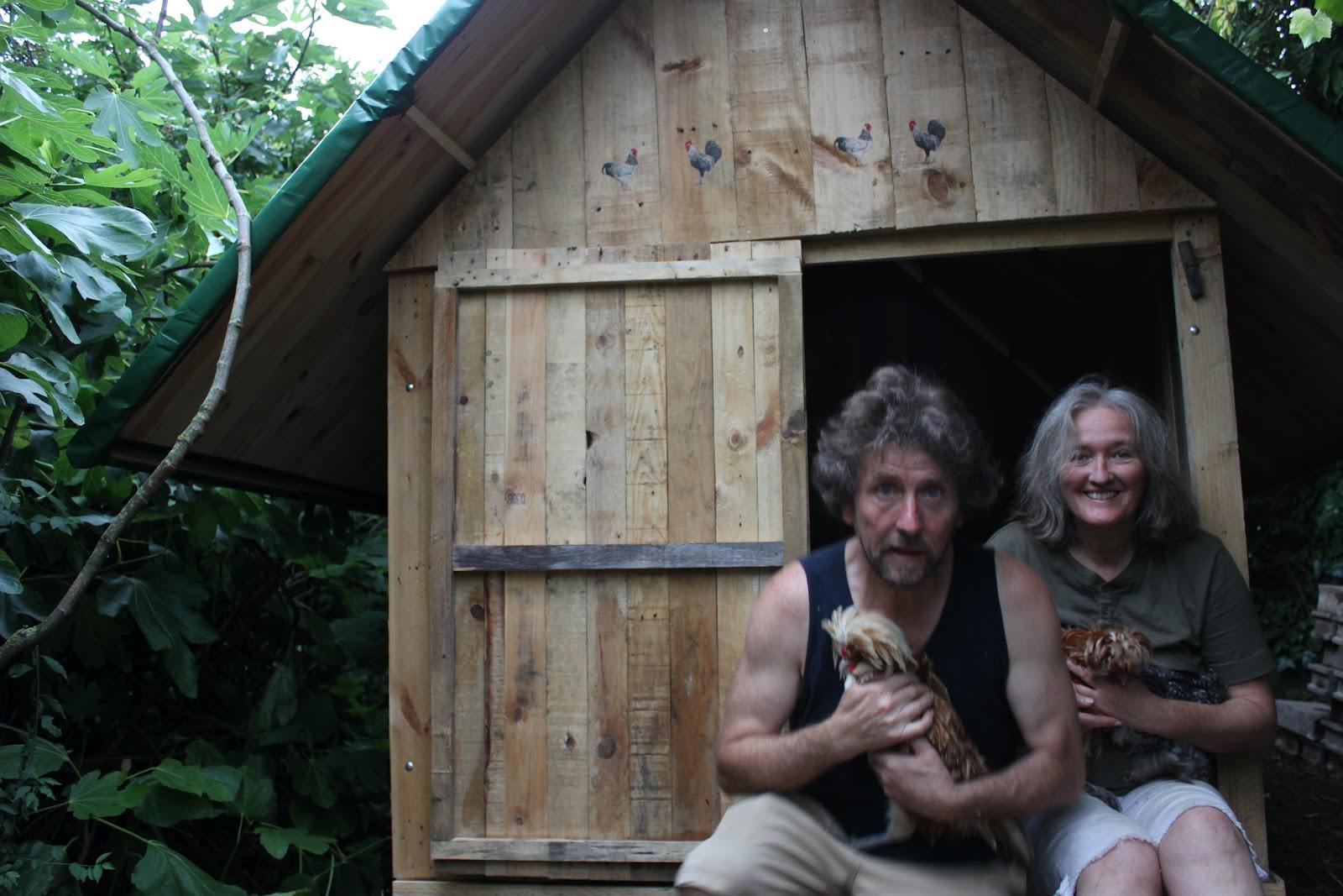 Diy Pallet Wood Hen House Chicken Coop Part 2