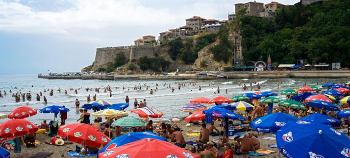 Большое путешествие по Черногории, Ульцинь, Мала плажа