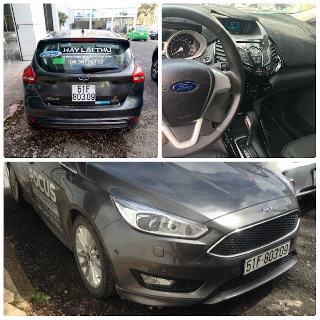 BÁN XE FORD CŨ  FORD FOCUS SPORT 1.5L ECOBOOST - AT - 2016 (1)