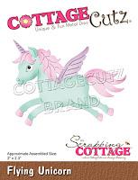 http://www.scrappingcottage.com/cottagecutzflyingunicorn.aspx