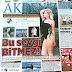 Luxury holiday Lisa Peskova sand discusses the Turkish press