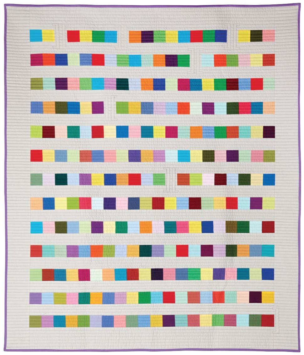 wonkyworld thomas knauer modern quilt perspectives blog tour  - mitosis