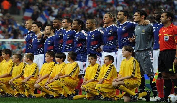 Prancis vs Rumania