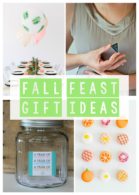 Fall Feast Gift Ideas and DIY Projects | Land of Honey