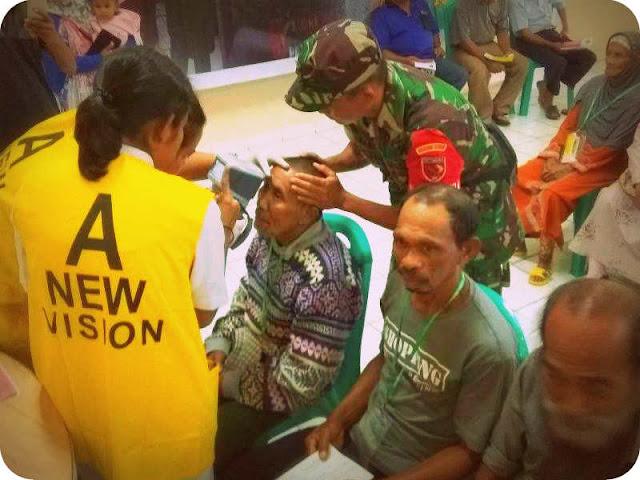 Kodam XVI Pattimura dan Walubi Sumatera Utara Gelar Bakti Sosial