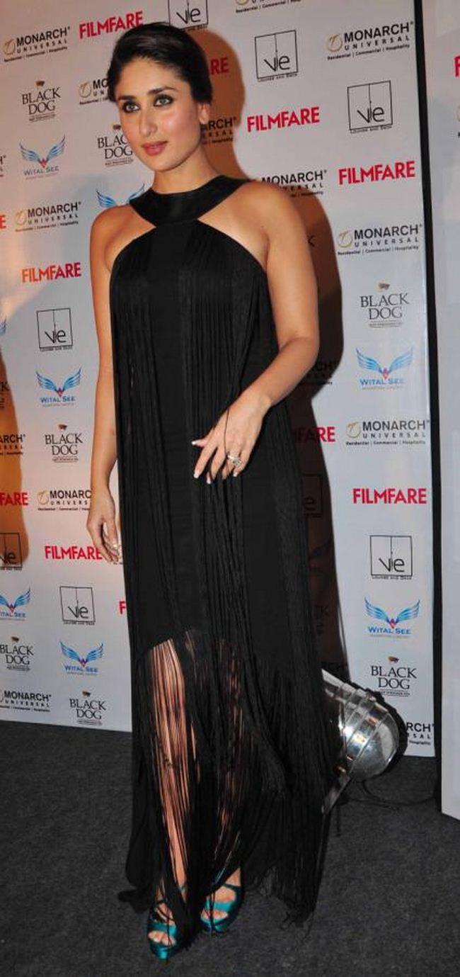 Black dress kareena kapoor - Kareena Kapoor Latest Photos In Black Dress