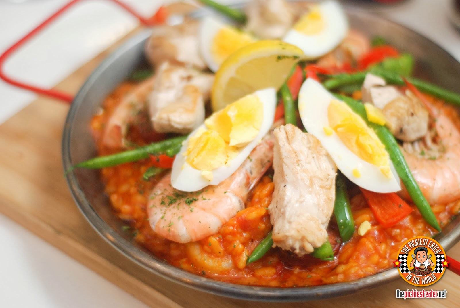 Seafood and Chicken Paella Risotto