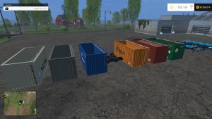 Ship containers pack