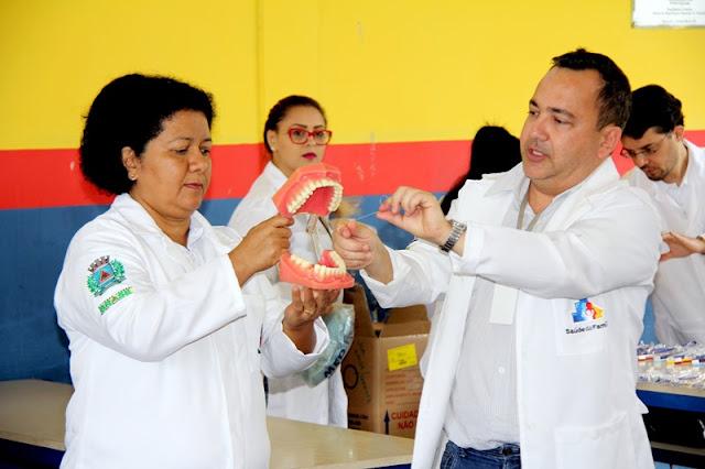 Prefeitura de Registro-SP realiza Programa Sorriso na Escola, com orientação e distribuição de kits de higiene bucal