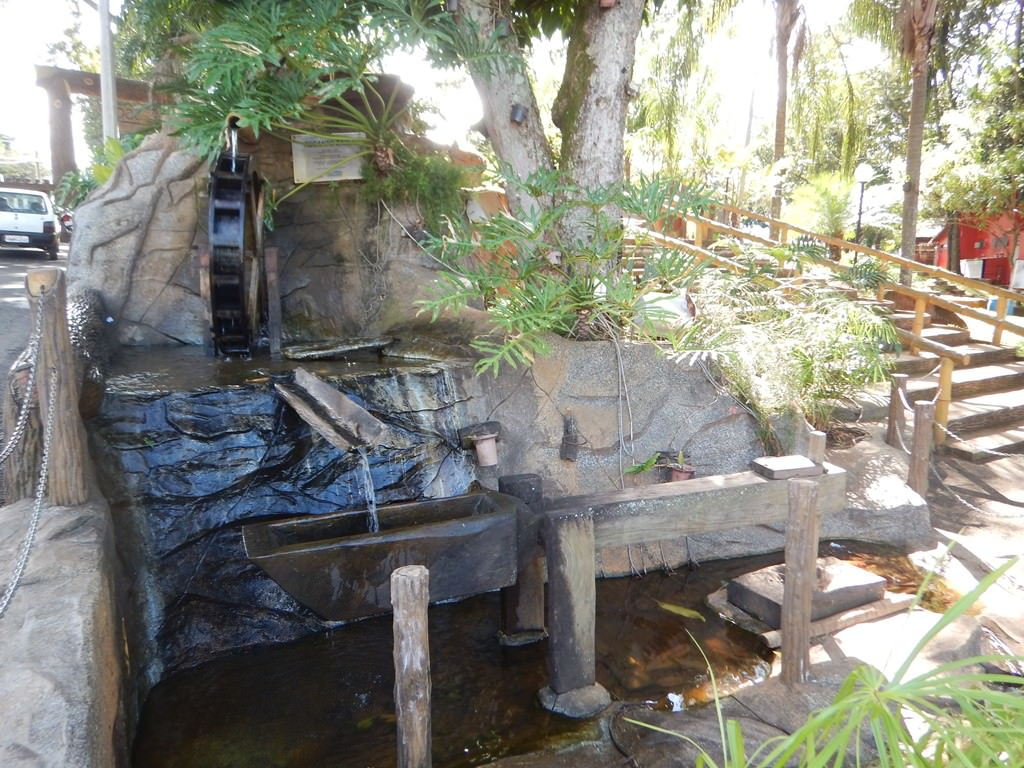 Entrada Tibery do Parque do Sabiá