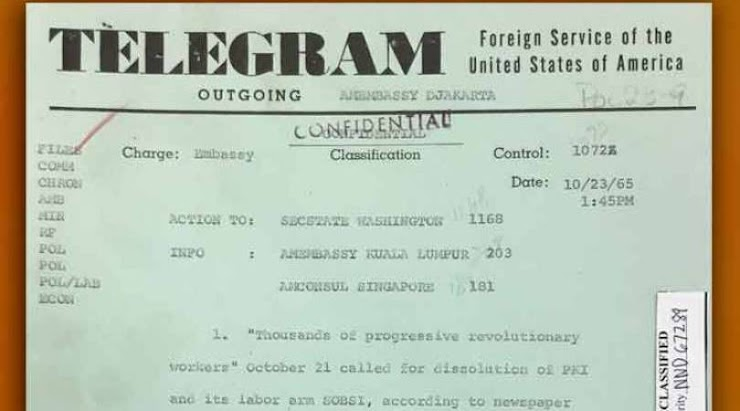 Dokumen Rahasia PKI Milik Amerika: Sinyal Bahaya bagi Indonesia!