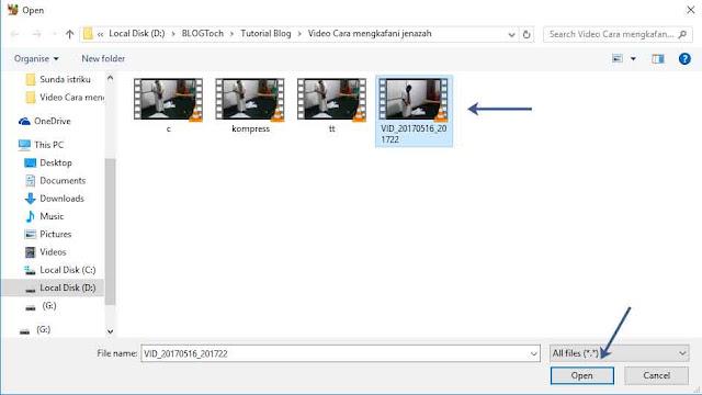 Cara Kompres Video Ukuran Besar Tanpa Merubah Kualitas
