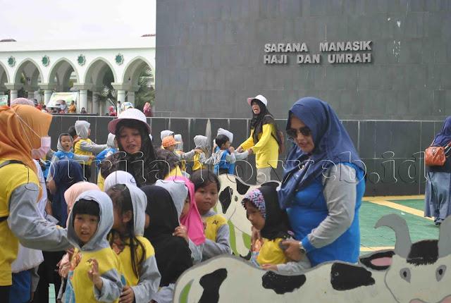 Gladi Kotor Manasik Haji PAUD se Sangatta Utara
