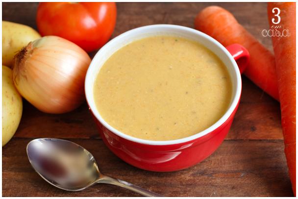 sopa de legumes receita
