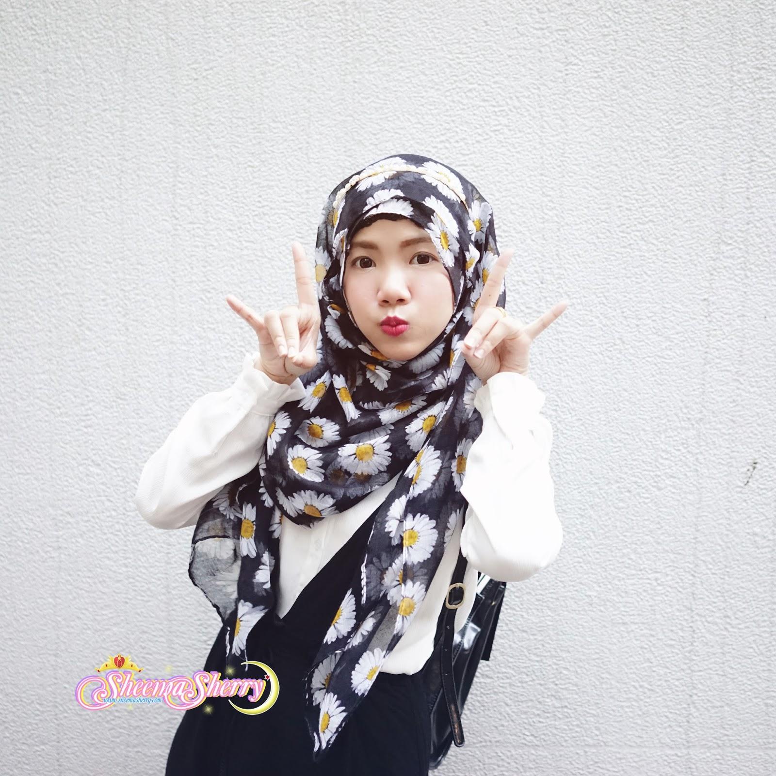 Kawaii Hijabi OOTD Hong Kong Wanchai Married Couple Hijab Cute Larme Kei Travel Travelling Muslim Halal