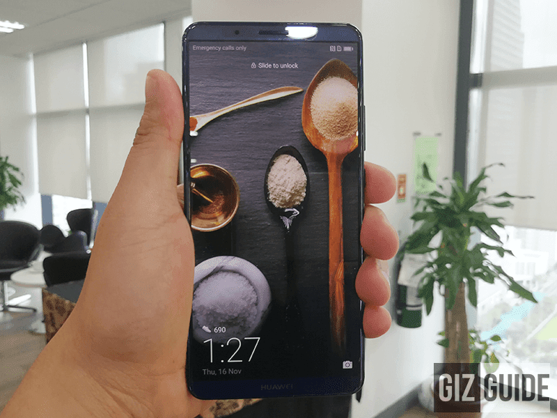 The Huawei Mate 10 Pro