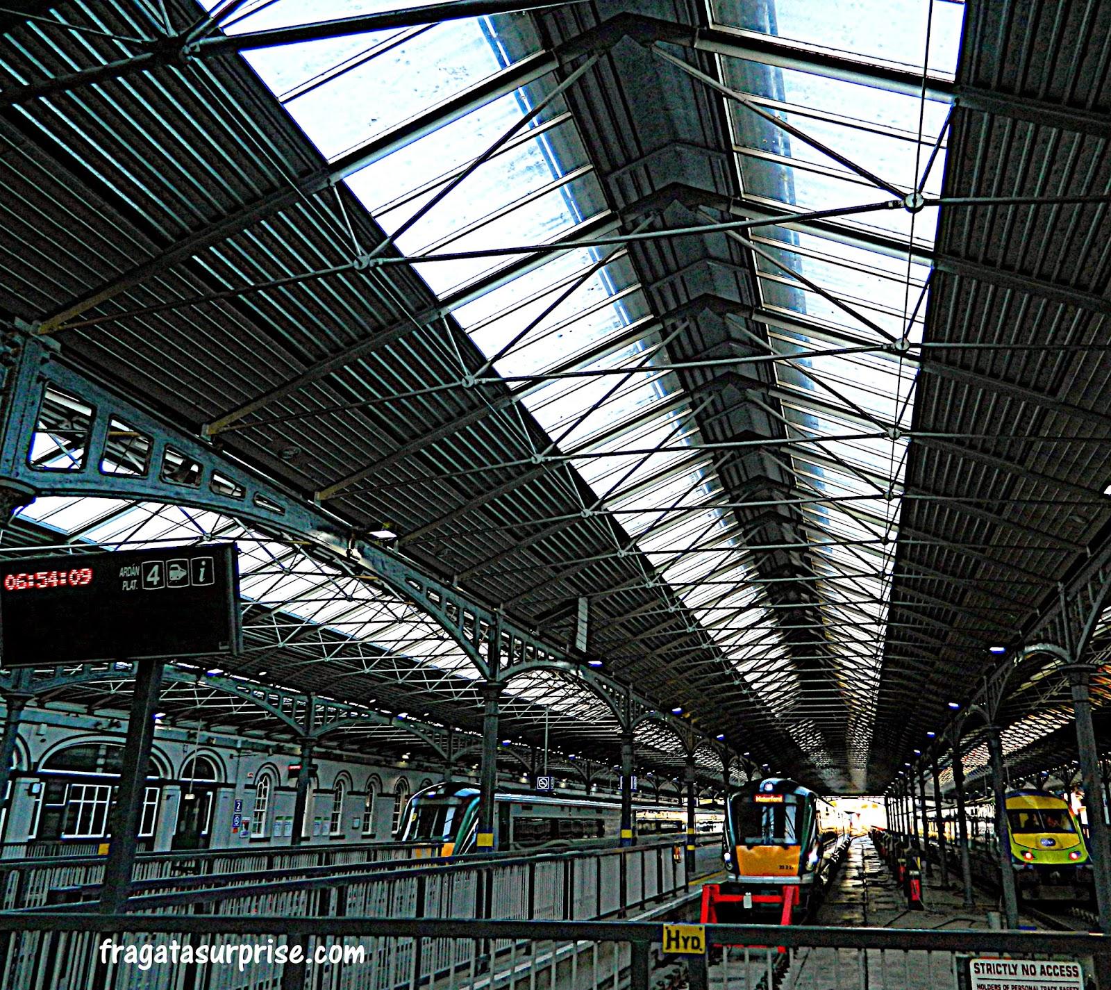 Estação Ferroviária de Connoly, Dublin, Irlanda
