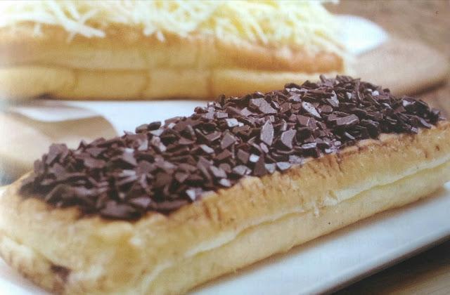 Resep Roti Long John Cokelat