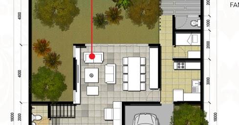 lingkar warna: 4 denah rumah minimalis ukuran 12x18 meter