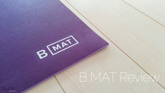B Yoga Everyday B Mat Review