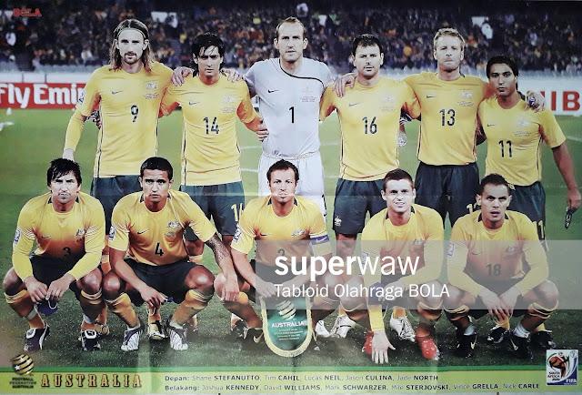 AUSTRALIA TEAM SQUAD WORLD CUP 2010