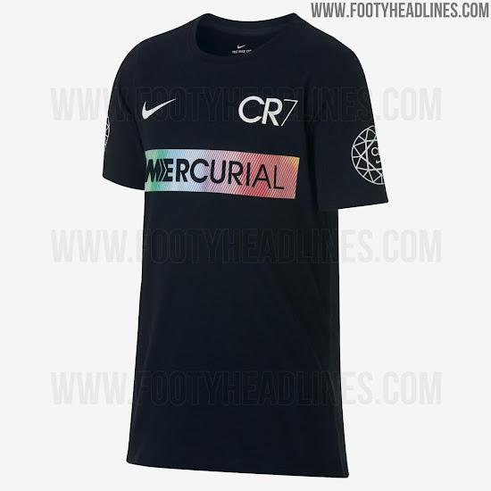 Desvelado Cristiano 'cut Nike El Diseño Camisetas Ronaldo De Las xBoedC