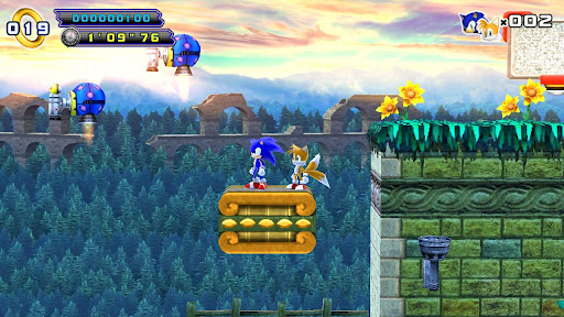 Sonic 4 Episode II HD & THD v1.3 Apk Game Download
