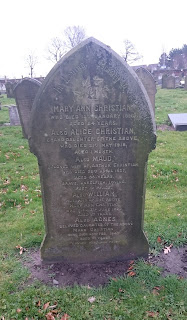 Mary Ann Christian's grave in Toxteth Cemetery