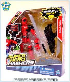 Marvel アメコミ Deadpool Hero Mashers Legends Xmen action figures