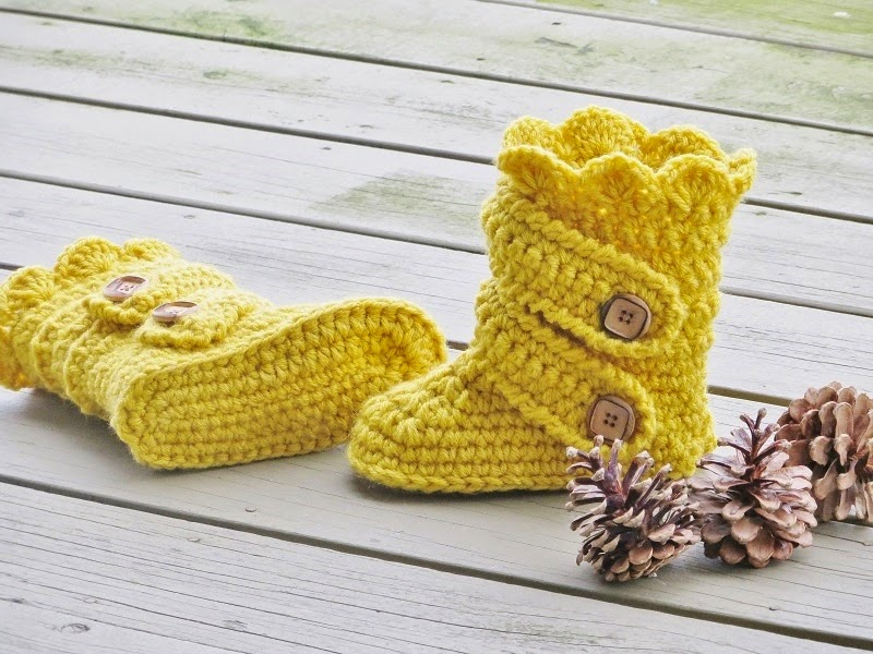 Crochet Dreamz Childs Classic Snow Boots Crochet Pattern Pdf