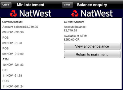 How to check your bank statement online natwest