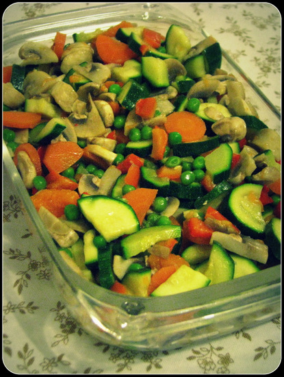 Thermomix Tarif Defterim: Steamed Vegetables