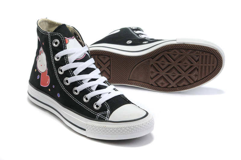 9d8f655543d3f4 Hello Kitty Converse Three Pack Canvas Shoes