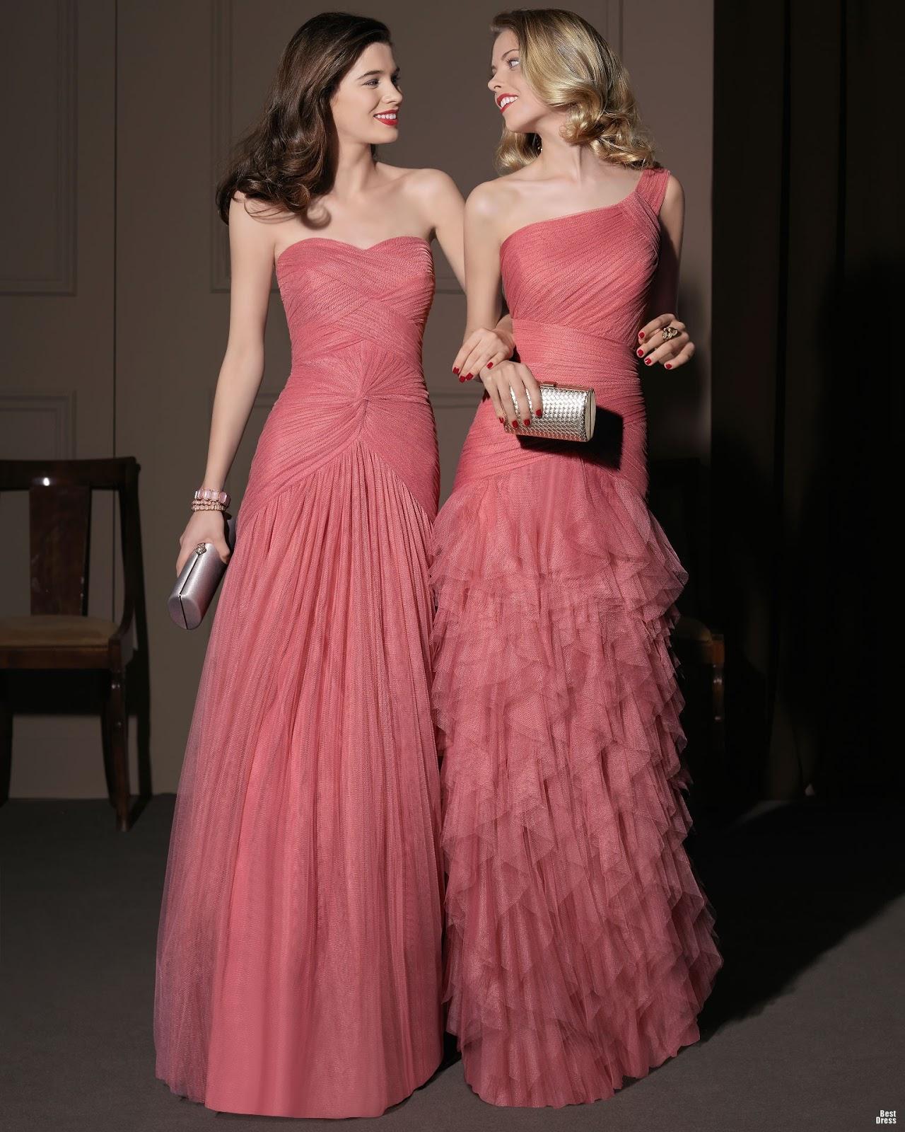 Hermosos vestidos elegantes para fiesta | Moda y vestidos largos ...