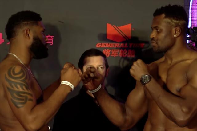 UFC Beijing Live Results : Curtis Blaydes vs. Francis Ngannou