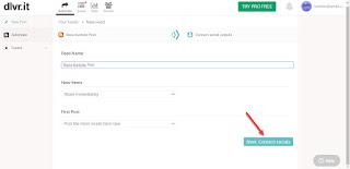 Cara Publikasikan Postingan Blogger Ke Facebook atau Twitter Secara Otomatis