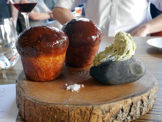 marmite brioche bread rolls by Etch restaurant Brighton