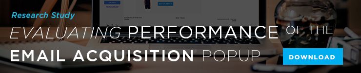 Research Study: Evaluating Performance of the Email Acquisition Popup