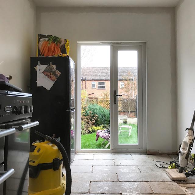 DIY kitchen renovating