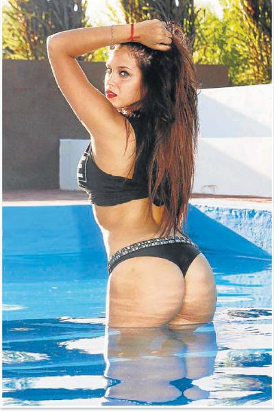 The best pictures of Barbie Vélez's ass.