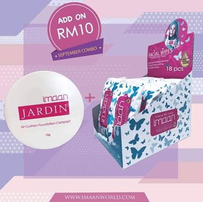 Imaan Facial Premium Wet Tissue