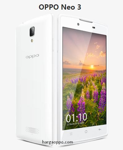 Spesifikasi Oppo Neo 3 R831K