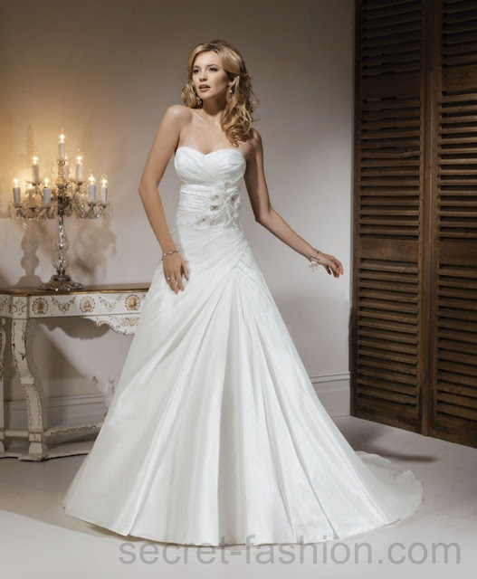 modern cheap wedding dresses
